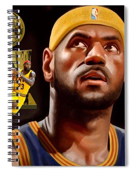 Lebron Spiral Notebook