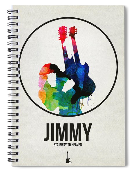 Led Zeppelin Watercolor Spiral Notebook