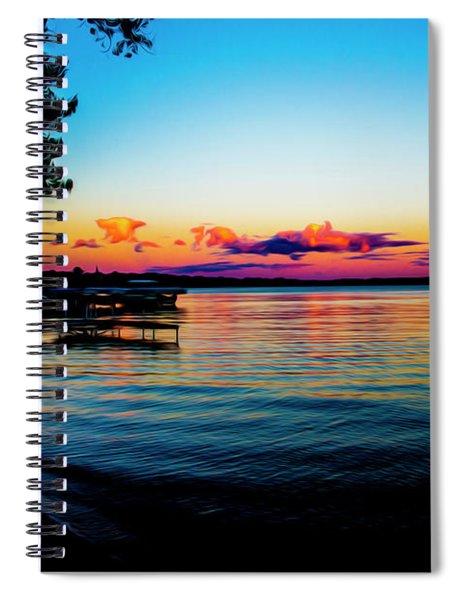 Leech Lake Spiral Notebook