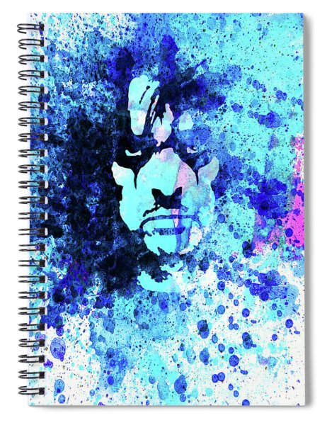 Legendary Alice Cooper Watercolor Spiral Notebook