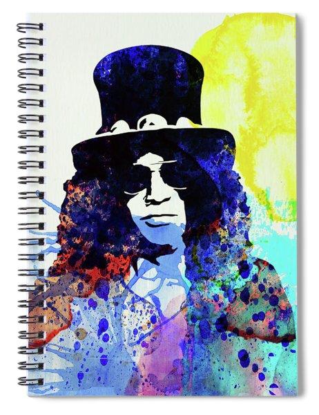 Legendary Slash Watercolor I Spiral Notebook