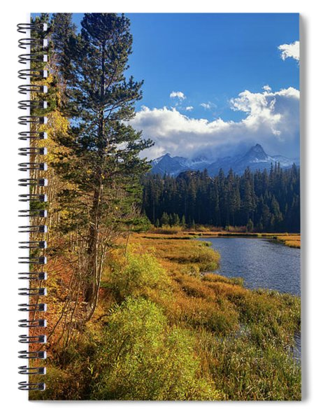 Legends Of The Fall Spiral Notebook