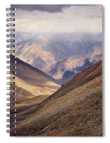 Leh-manali Mountains Spiral Notebook