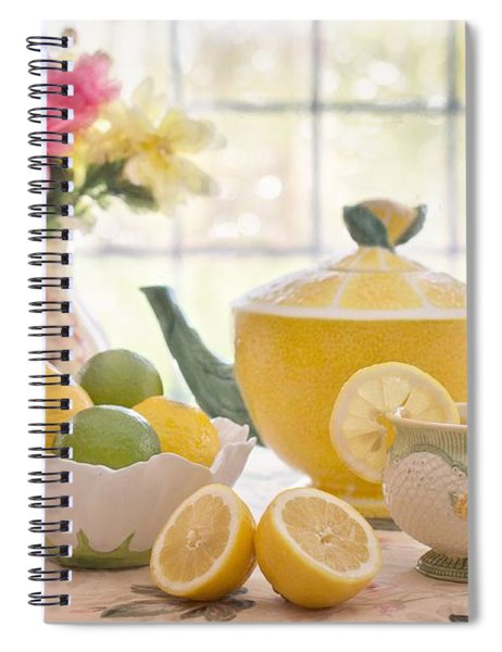 Lemon Tea  Spiral Notebook