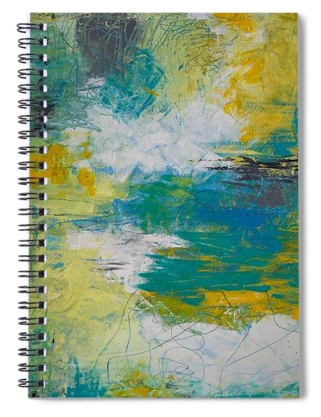 Lemonade And Blue Skies Spiral Notebook