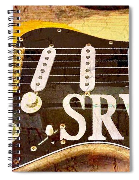 Lenny Stevie Ray Vaughans Guitar Spiral Notebook