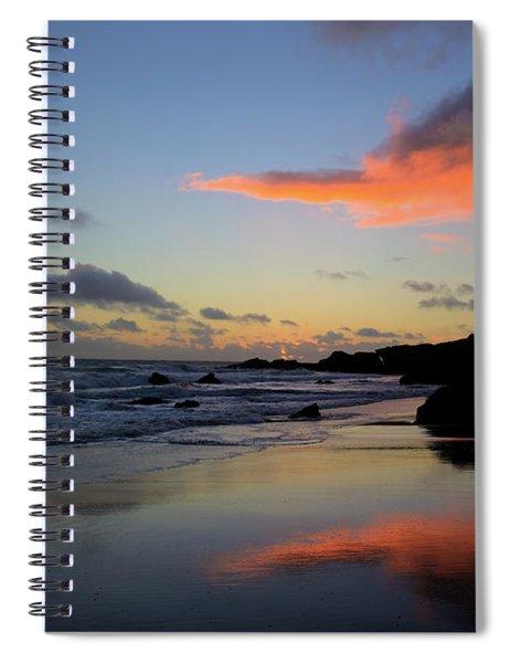 Leo Carrillo Sunset II Spiral Notebook
