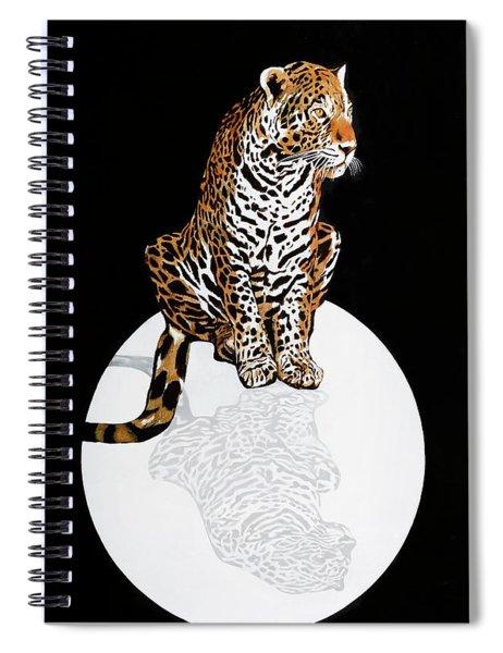 Leopardo Da Vinci Spiral Notebook