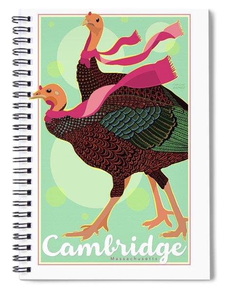 Les Foulards De Cambridge Spiral Notebook