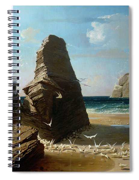 Les Petites Mouettes, Small Seagulls Spiral Notebook