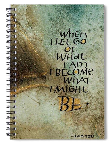 Let Go Spiral Notebook