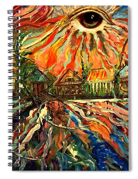 Let Love Shine Spiral Notebook