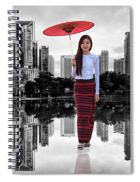 Let The City Be Your Stage Spiral Notebook