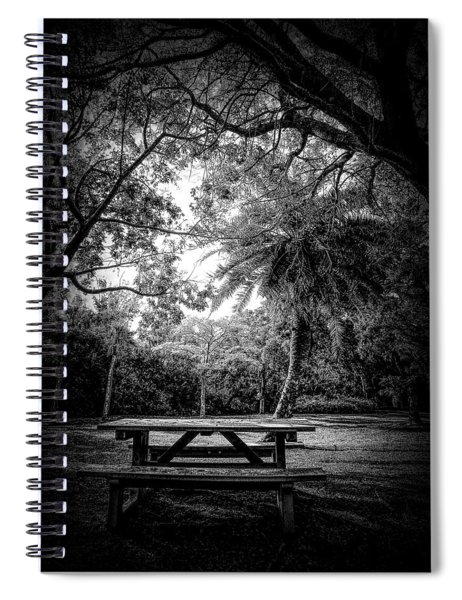 Let The Light In Spiral Notebook