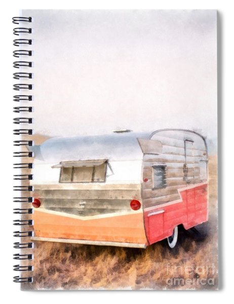 Let's Go Camping Spiral Notebook