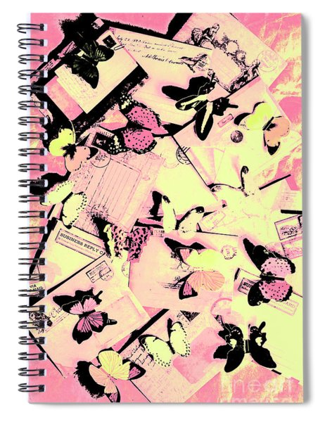 Letter Nests Spiral Notebook