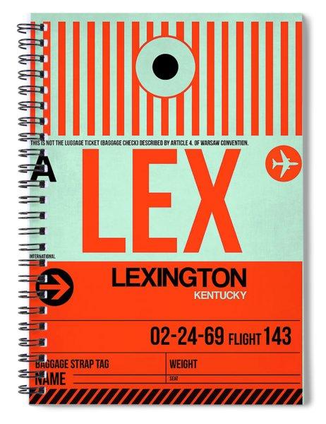 Lex Lexington Luggage Tag I Spiral Notebook