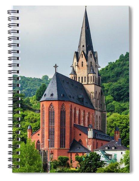 Liebfrauenkirche Oberwesel Spiral Notebook