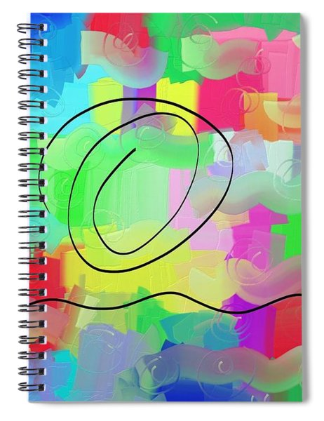 Sky And Sea Spiral Notebook