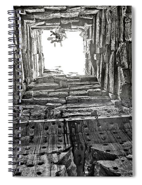 Light At The End Spiral Notebook