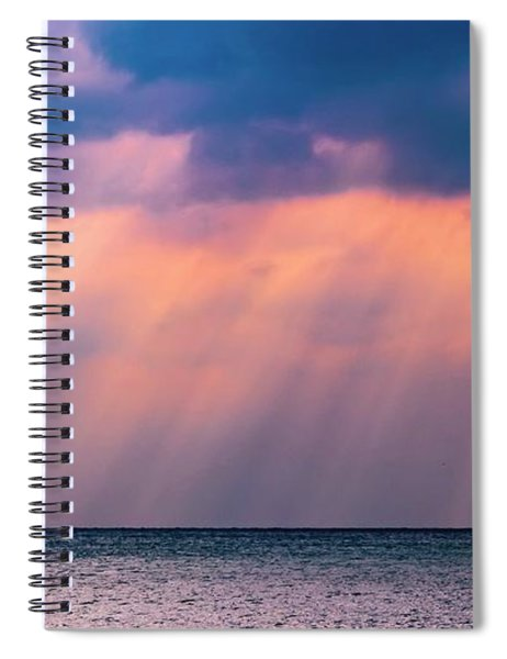Light Event Spiral Notebook
