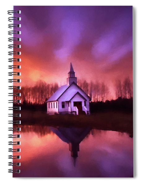 Light In The Dark - Hope Valley Art Spiral Notebook