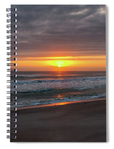 Light Of The Sun Spiral Notebook