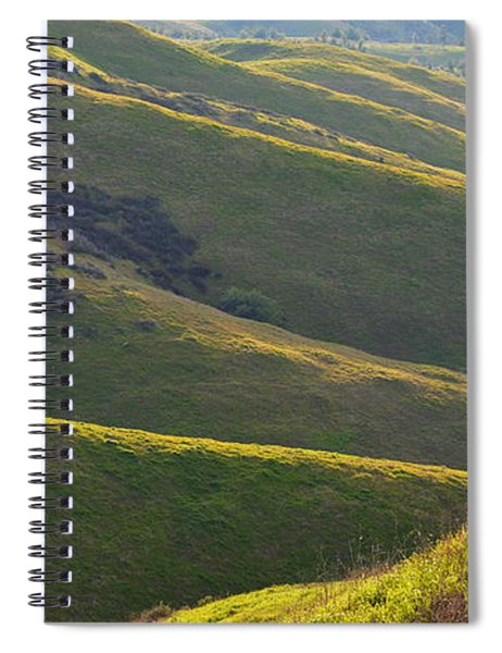 Light On Crafton Hills Spiral Notebook
