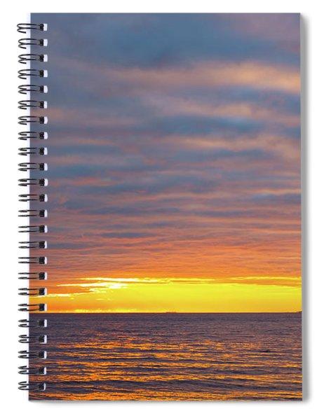 Light On The Horizon Spiral Notebook