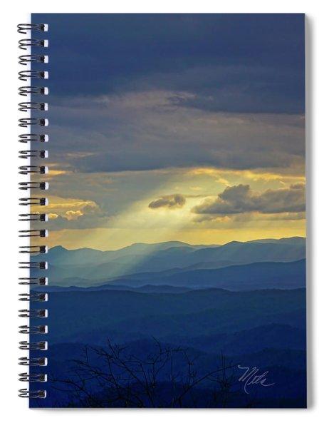 Light Rays Spiral Notebook