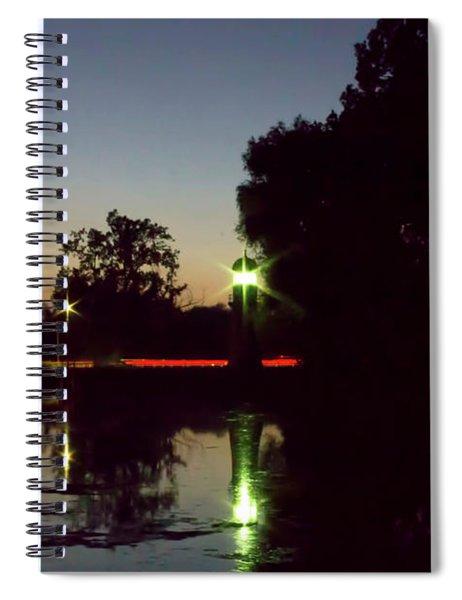 Lighthouse Light Spiral Notebook