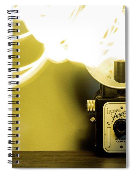 Lights, Camera, Action Spiral Notebook