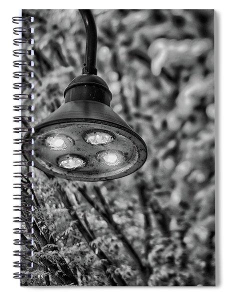 Lights In Town Spiral Notebook