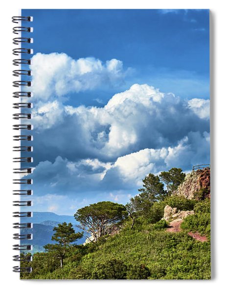 Like Touching The Sky Spiral Notebook
