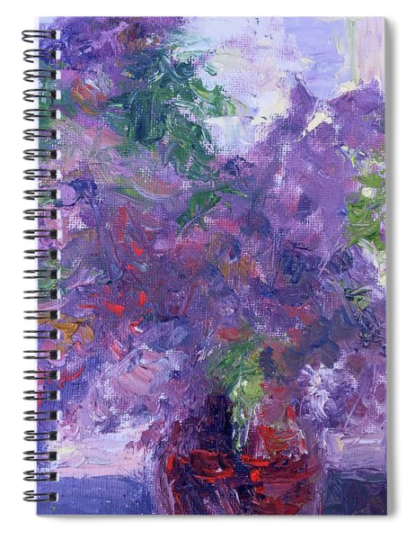 Scents Of Spring Spiral Notebook