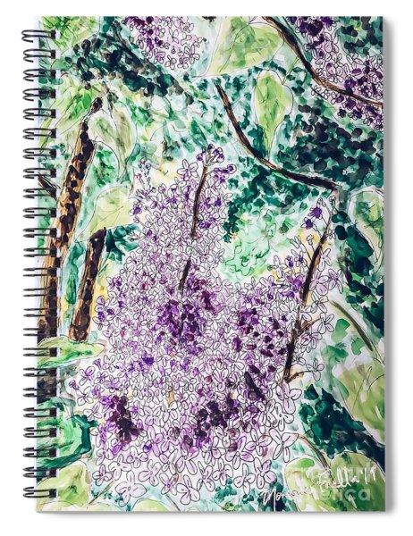 Lilac Dreams Spiral Notebook