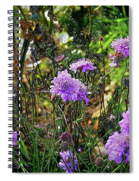 Lilac Jelly Pincushion Spiral Notebook