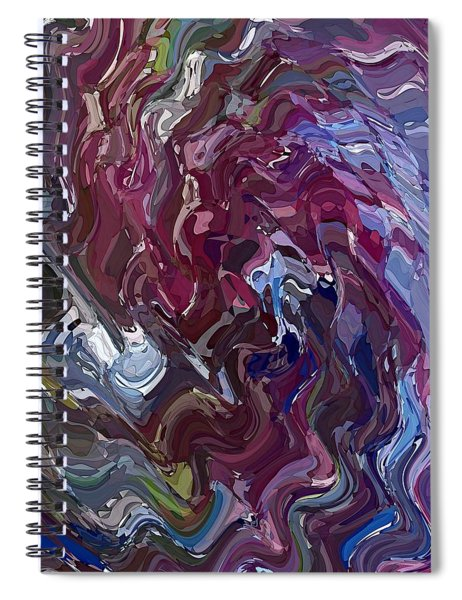 Lilac Oil Spiral Notebook