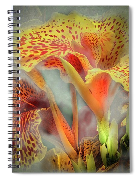 Lily In The Fog Spiral Notebook