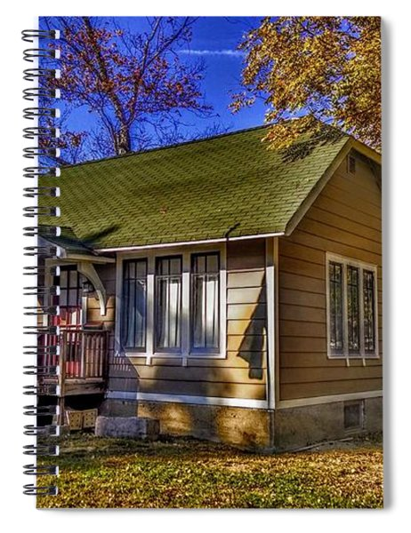 Lincoln Park History Museum Spiral Notebook