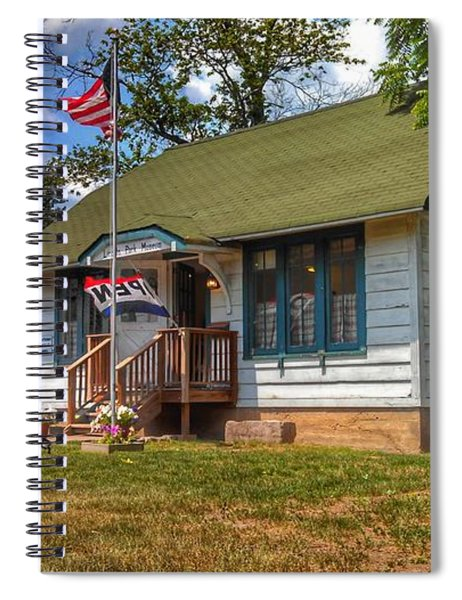 Lincoln Park History Museum - Vintage Spiral Notebook