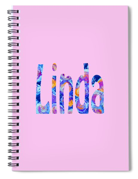 Linda 2 Spiral Notebook