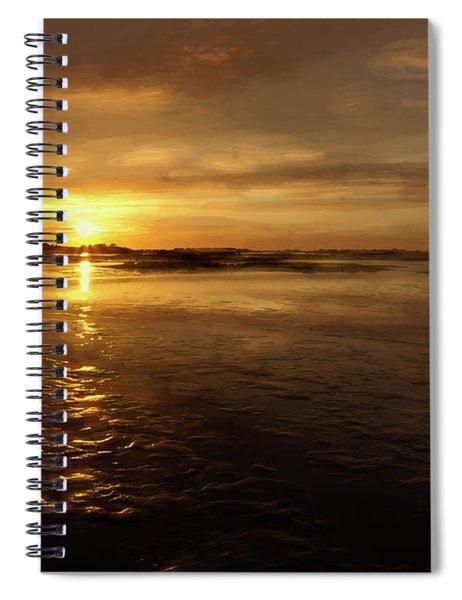 Lingering Sunset Spiral Notebook