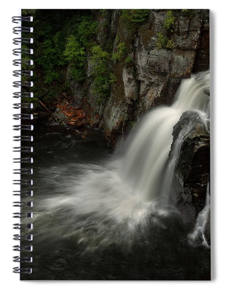 Linville Falls - Linville Gorge North Carolina Spiral Notebook