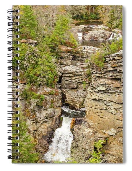 Linville Falls - Vertical Spiral Notebook