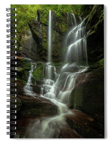 Linville Gorge - Waterfall Spiral Notebook