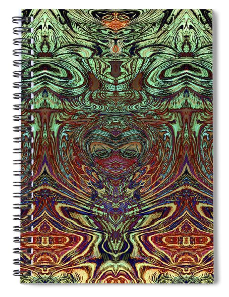 Liquid Cloth 2 Spiral Notebook