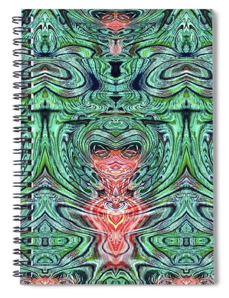 Liquid Cloth Spiral Notebook
