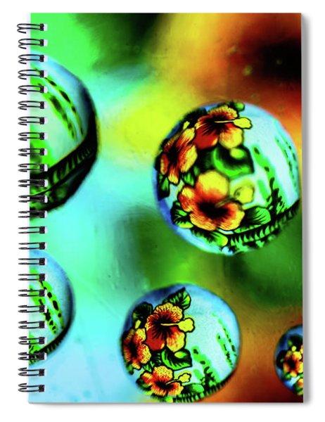 Liquid Lenses Spiral Notebook