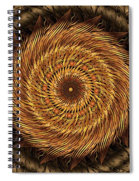 Listen To The Wind Spiral Notebook